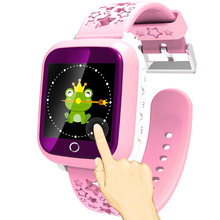 Smart Watch Baby Kid Waterproof IP 65 Touch Screen Watch SOS Calling Location for Children Anti-Lost Smartwatch with SIM Slot