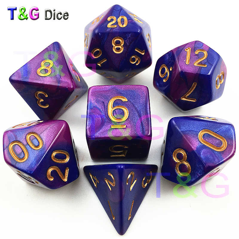 Detail Feedback Questions About Top Quality Hot 7pcs Mix Color Dice