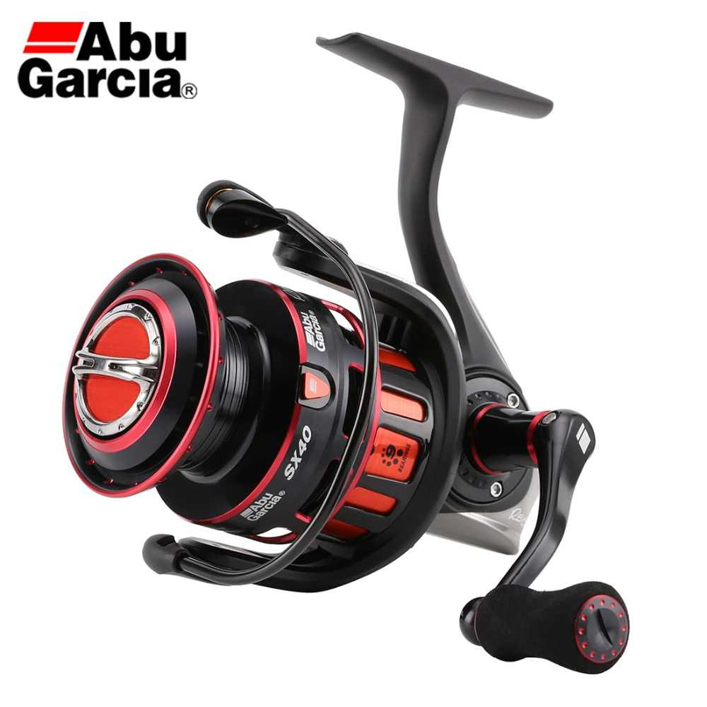 Original ABU GARCIA 6.2:1 REVO2SX SX 20 30 40 Spinning Fishing Reel 8+1BB 4.9KG-7.7KG Max Drag Fresh & Saltwater Fishing Tackles