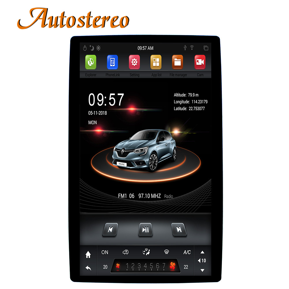 Tesla style Android 8 Car GPS Navigation car No DVD Player For Toyota/Nissan/Suzuki/Lexus most radio tape recorder auto headunit-in Car Multimedia Player from Automobiles & Motorcycles    1