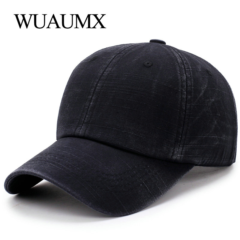 1cb2562a493e Gorras de béisbol de verano Vintage de Wuaumx para hombre deportes al aire  libre gorra de béisbol ...