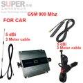Para rusia car booster GSM 900 Mhz amplificador de señal de teléfono para coche, pantalla LCD GSM 900 mhz repetidor de la señal GSM repetidor PARA EL coche uso