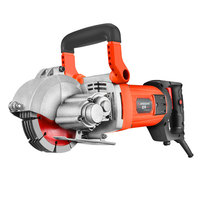 ALLSOME 220V 3000W Electric Wall Chaser Groove Cutting Machine Wall Slotting Machine Steel Concrete Cutting HT2238