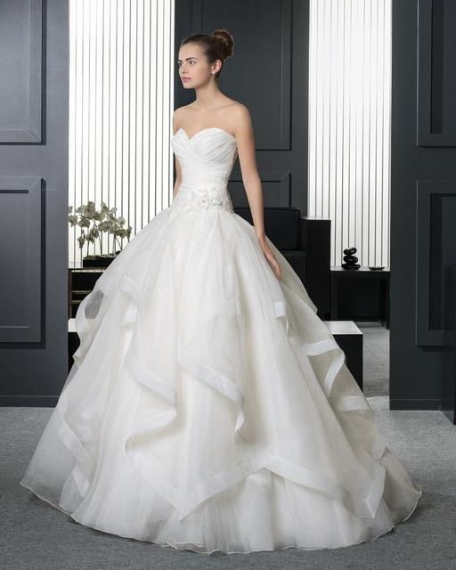 Wedding Ball Gowns Sweetheart Neckline: Top Selling Backless Sleeveless Ball Gown Princess Wedding
