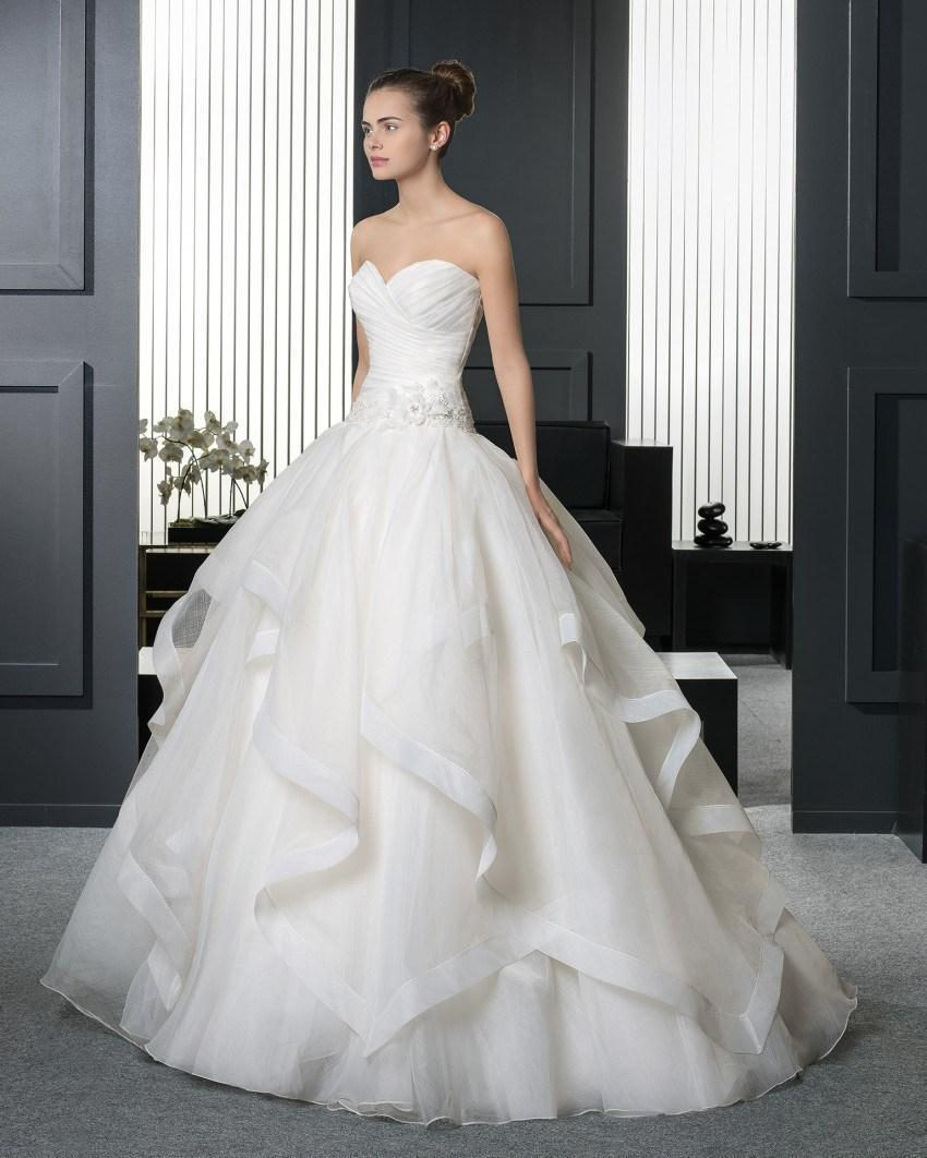 Popular Wedding Dresses Sweetheart Neckline Princess Ball Gown ...
