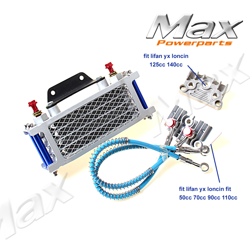 Atv Parts & Accessories Nice Atv Motorcycle Dirt Pit Bike Pitbike Parts 110cc 125cc 150cc Engine Oil Cooling Radiator Cooler For Honda Crf Ktm Klx Ttr Without Return Atv,rv,boat & Other Vehicle
