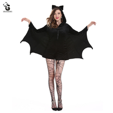 Adult Batman Costumes Sexy Women Dress Carnival Halloween Costume for Fancy Party Super Hero Cosplay Nightclub