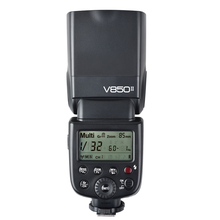 Godox V850II GN60 2.4 Г Wirless Системы X Speedlite ж/Литий-Ионный Аккумулятор Вспышка Света для Canon Nikon Pentax Olympus DSLR Камеры