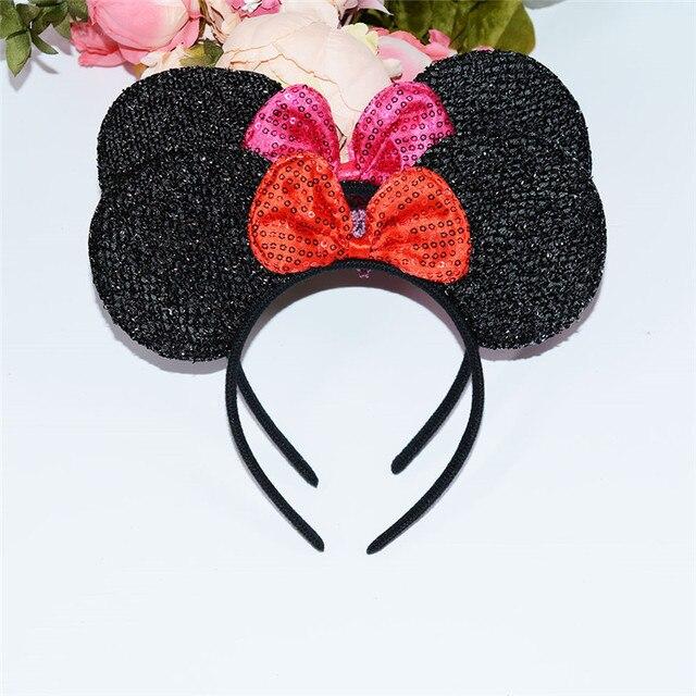 Minnie Mouse diadema accesorios del pelo de los bebés lunares orejas ...