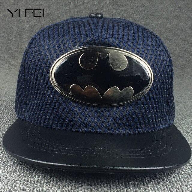 2018 moda verano marca Batman gorra de béisbol hombres mujeres Casual Hip  Hop fcba829c769