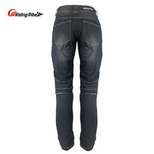 Motorcycle Riding Pants Men Motorbike Jeans Protective Gear Motocross Biker Trousers With Removable Protector Guards HP-11