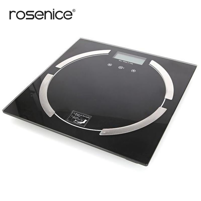 ROSENICE Digital Body Weight Measurement Backlight Body Fat Scale Balance Scale