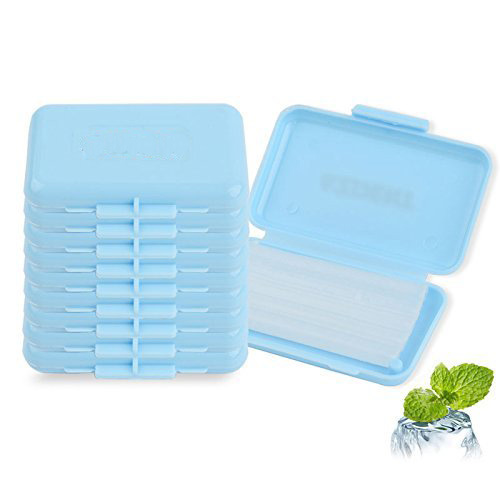 40 Kits Dental Orthodontics Ortho Wax Blue-Mint scent For Brace bracket gum irritation occlusion in orthodontics
