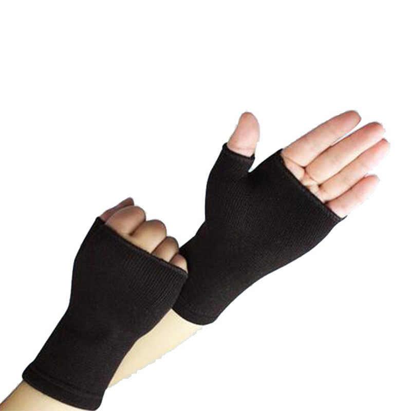 1 пара ультратонкий проветрить наручи повязка против артрита рукав Поддержка перчатки эластичный ладони рук подкладка для запястий