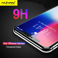 Protective Glass For iPhone 6 6s 7 8 Plus For iPhone X XS MAX 4 4s 5 5s SE Screen Protector FilmTempered Glass For iPhone XS XR
