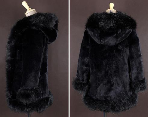 Fourrure 2019 Faux Artificielle De Z155 La Plus Outwear Manteau Taille Vison Veste Femme Femmes Hiver cYWnH0n