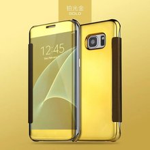 Ringcall Electroplate Mirror Plating Phone Crystal Hard Case Cover Back For Samsung Galaxy S7 S7 Edge Mobile Phone Cover Bags