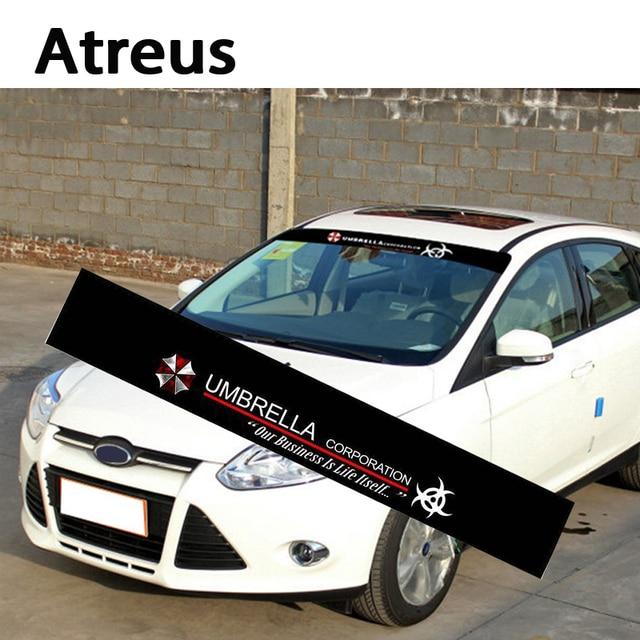Atreus X Car Auto Front Window Windshield Decal Stickers For VW - Front window stickers for car