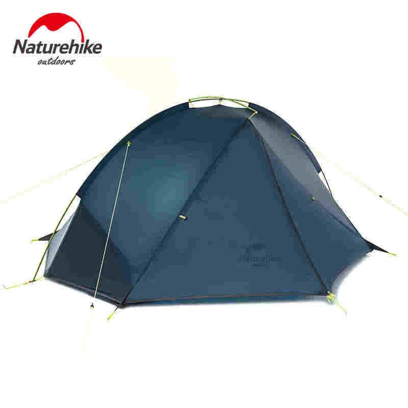 เต็นท์ Naturehike 1.4-1.6Kg Ultralight แท็ก Camping เต็นท์ 20D ซิลิโคนไนล่อนเดินป่ากลางแจ้งเต็นท์ PU4000mm NH17T140J barraca tenda
