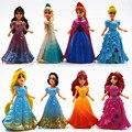 Disney Juguetes Para Niños Top Moda Desigual Marca Niños Juguetes Figuras de Acción Juguetes de Anime Brinquedos Frozen Princesa Elsa Anna Ty861