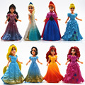 Disney Kid Toys Top Fashion Desigual Brand Kids Toys Frozen Princess Elsa Anna Action Figures Juguetes Anime Brinquedos Ty861