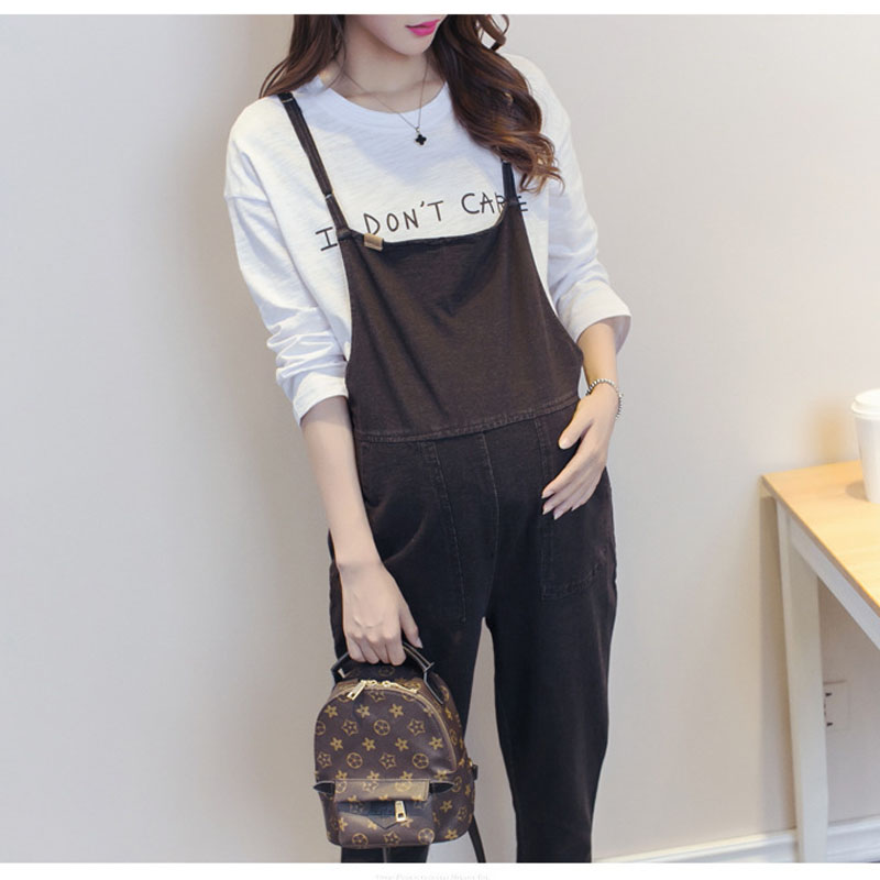 Pregnant Women Clothes Jeans Suspender Big Trousers Maternity Clothing Prop Belly Legging Denim Pants Pregnancy Clothing OverallPregnant Women Clothes Jeans Suspender Big Trousers Maternity Clothing Prop Belly Legging Denim Pants Pregnancy Clothing Overall