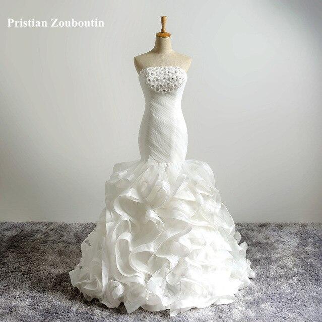Best seller maß Designer Brautkleid meerjungfrau Kleider Kleid robe ...
