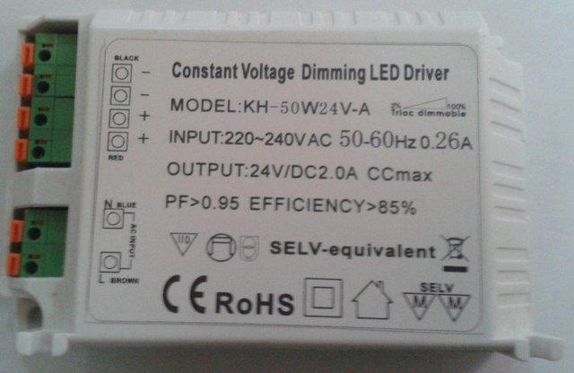 60W TRIAC Dimming Constant voltage LED Driver;AC180V-250V/AC95V-140V;12V/24V/36V/48V output;please advise