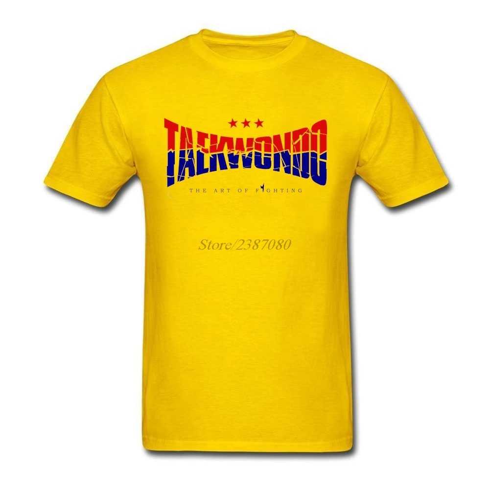 Тхэквондо трещины логотип Футболка короткий рукав мужская одежда хип хоп 3d принтер o-образным вырезом хлопок XXXL мужские рубашки