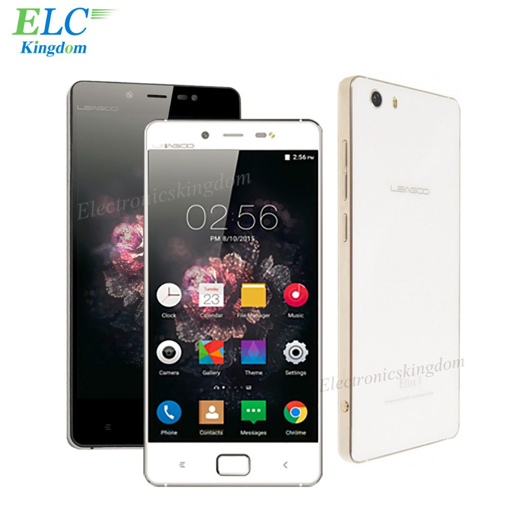 Original Leagoo Elite 1 Mobile Phone 5 0 inch MTK6753 Octa Core 3GB 32GB Android 5