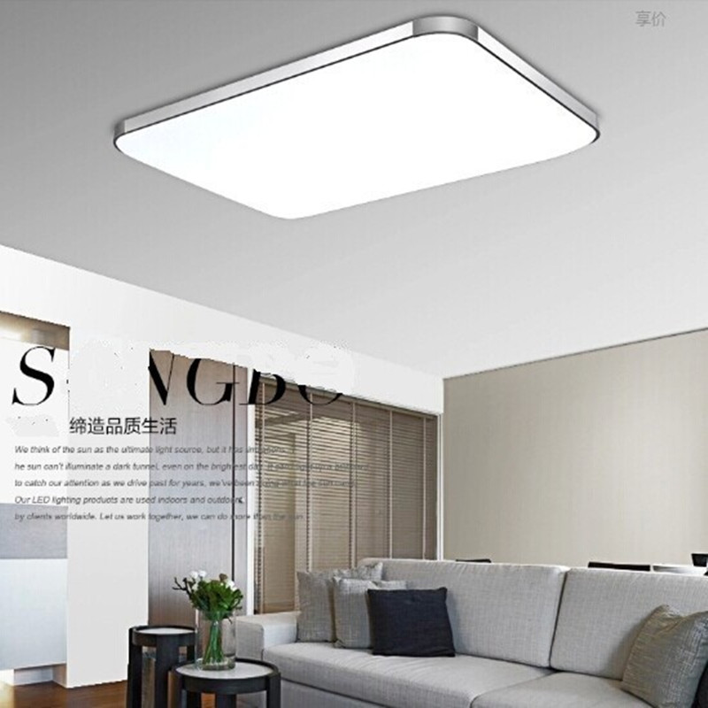 Modern Led Ceiling Lights Living Room 2.4G Remote Group Controlled ...
