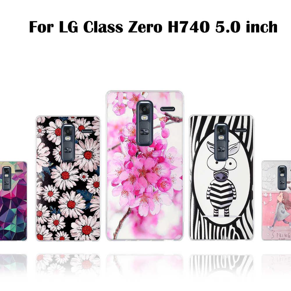 ل Fundas LG الصفر حقيبة لجهاز LG الدرجة H650 LTE H650E غطاء لينة TPU شل ل LG الصفر الدرجة جراب هاتف الغطاء الخلفي h650e حالات حقيبة