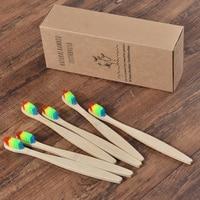 50 Pack Vegan Soft Bristle Toothbrush Bamboo Toothbrush cepillo dientes Natural Eco Capitellum Bamboo Fibre Bamboo Toothbrush