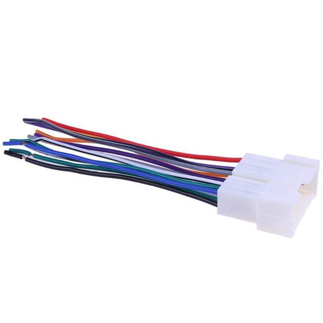 online shop car stereo cd player wiring harness wire aftermarket rh m aliexpress com
