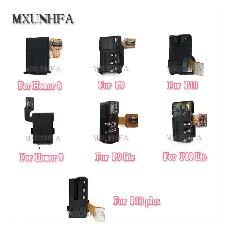 New Earphone Headphone Audio jack Flex Cable For Huawei P9 P10 <font><b>Lite</b></font> P10 Plus <font><b>Honor</b></font> 8 <font><b>9</b></font> Replacement Repair <font><b>Parts</b></font> image