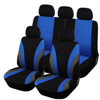 9PCS Auto Interior Accessories Classic Design Styling Car Seat Covers Universal Car cases Protector Auto Cases
