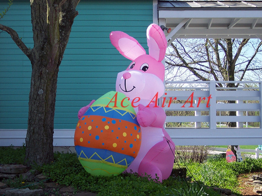Outdoor Funny Inflatable Little Bunny In The Yellow Backet For Easter  Events In Ballons U0026 Accessories From Home U0026 Garden On Aliexpress.com |  Alibaba Group