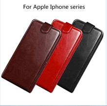 цена Luxury Pu Leather Wallet Phone Case For iPhone X 5 S SE2 6 6S 7 8 Plus Flip Cover Card Slot Stand Magnetic Funda For iPhone 4 4S