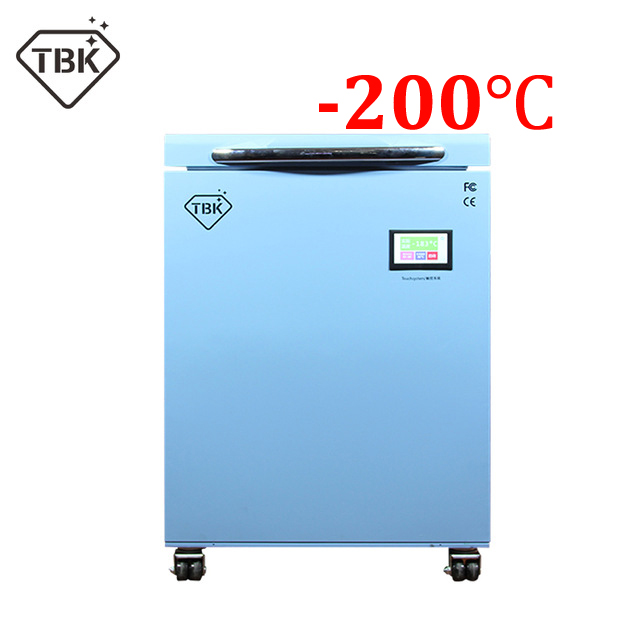 200C TBK 588A LCD Freezing Machine For Mobile Phone Repair Frozen Separator Instruments LCD Touch Screen Separating Machine