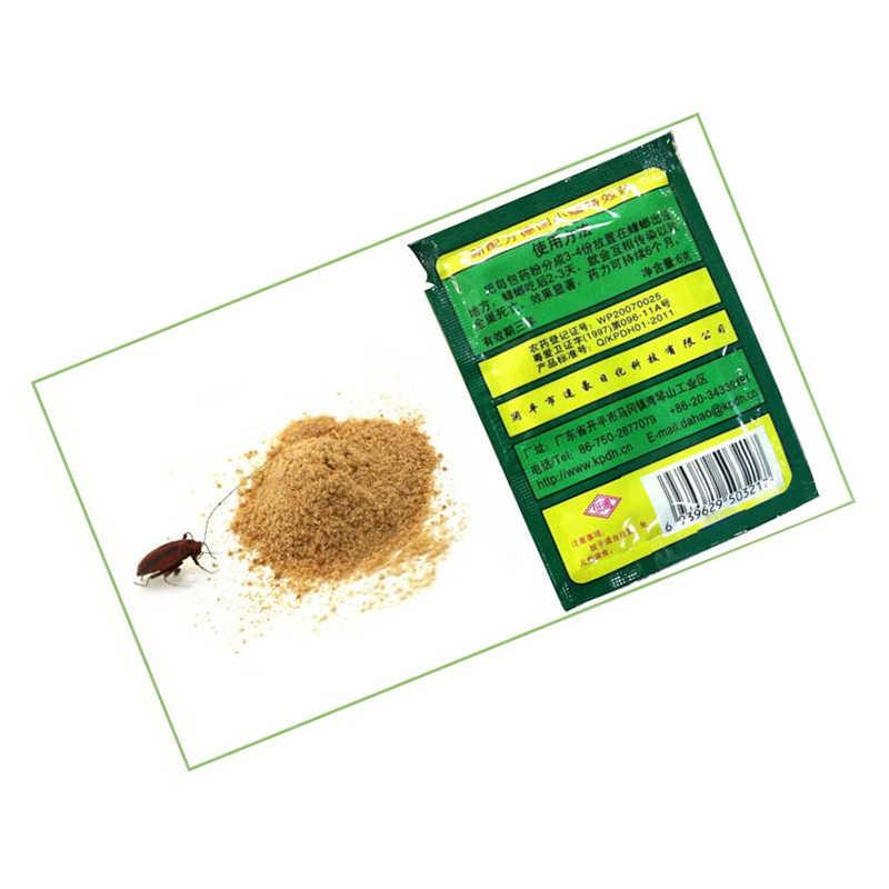 1 Pza potente cucaracha efectiva Killer Killing Bait Ants cebo Control de Plagas cucarachas repelente polvo Q