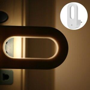 Image 5 - LED Stecker in der Nacht Licht Warm Weiß Wand Lichter Dusk zu Dawn Licht Sensor für Baby Kinder Kinder der Zimmer Kindergärten Treppen Flur
