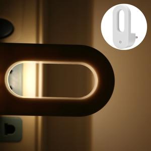 Image 5 - LED التوصيل في ضوء الليل الدافئة الأبيض أضواء الجدار الغسق إلى الفجر ضوء الاستشعار للطفل الاطفال غرفة نوم الأطفال درج المدخل