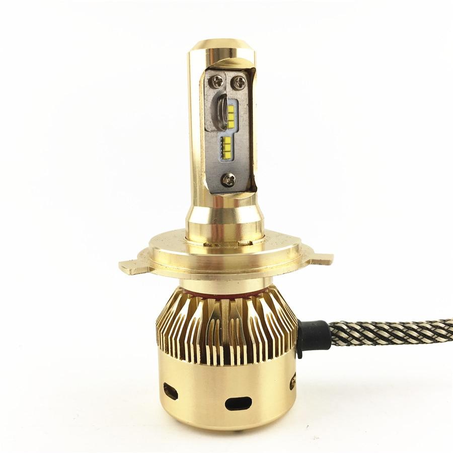 H4 Araba Styling LED Araba Far 90 Watt 8000 Lümen Farlar Dönüşüm - Araba Farları - Fotoğraf 5