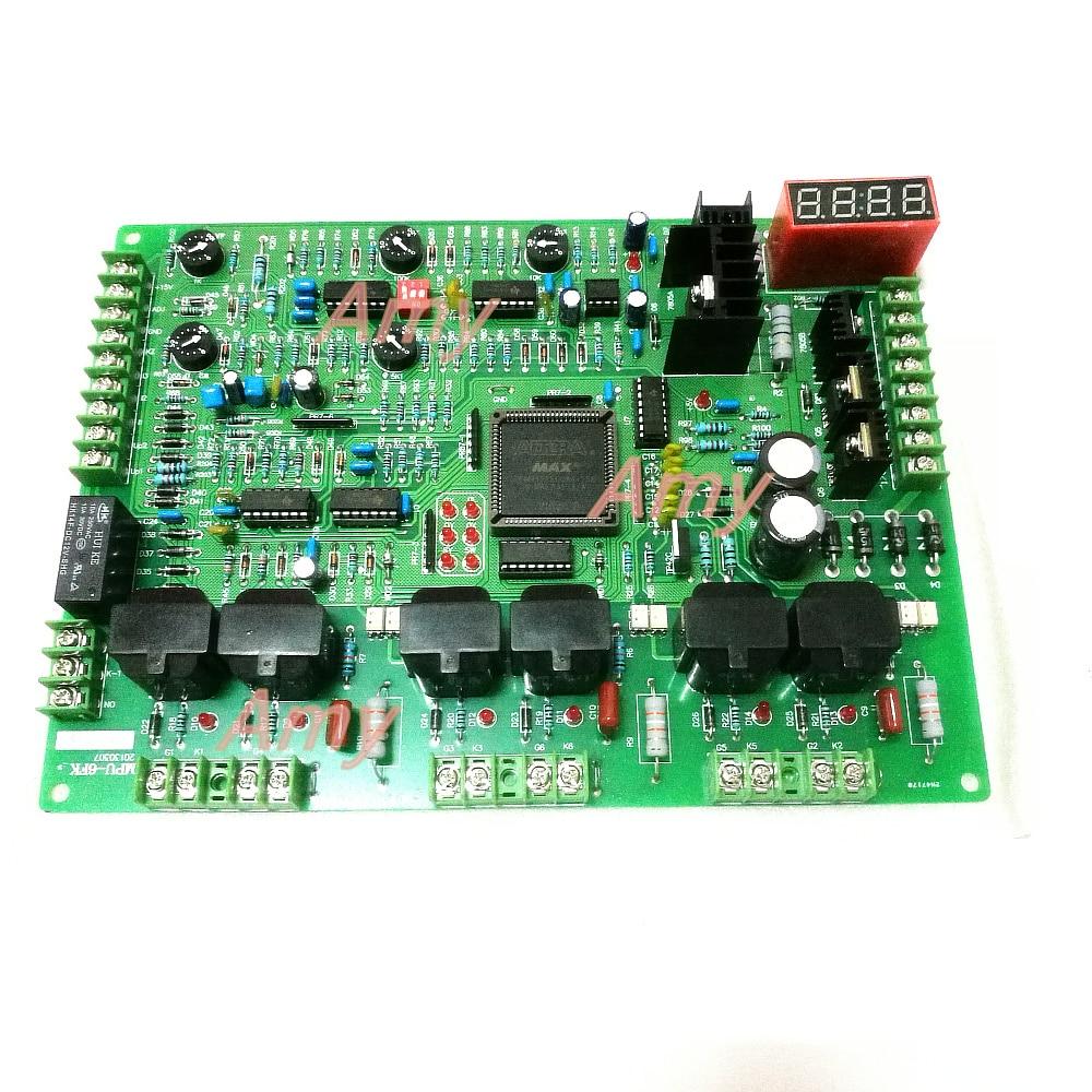 Intermediate frequency furnace circuit board control board main board MPU 6 MPU 2 military quality imported
