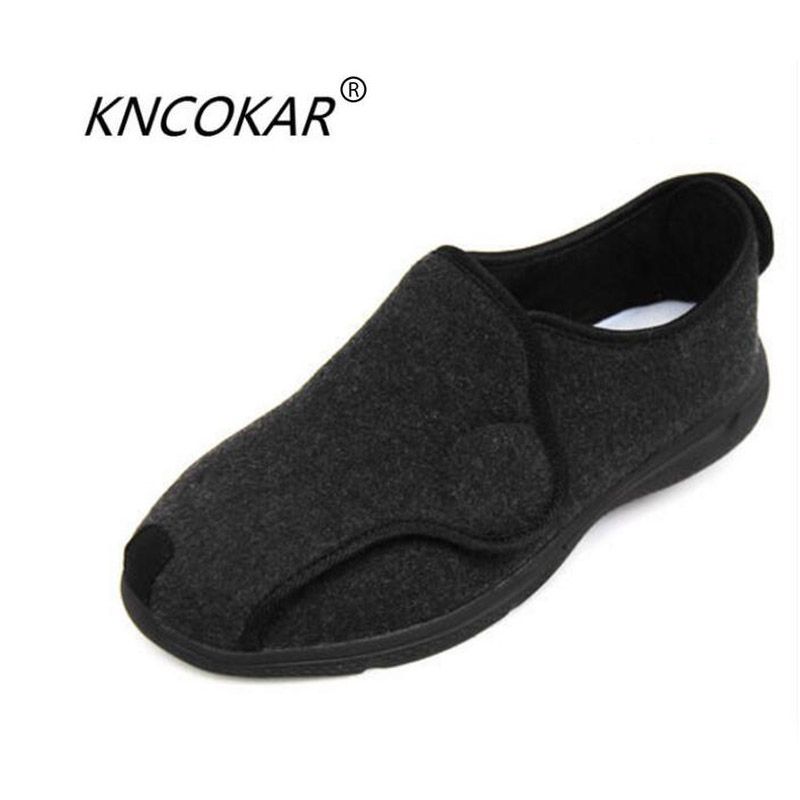 KNCOKAR 2018 spring and autumn period female foot wide bunions are used to care for elderly diabetes shoes 36-41KNCOKAR 2018 spring and autumn period female foot wide bunions are used to care for elderly diabetes shoes 36-41