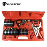 1set Piston ring Pliers set group Piston Ring Compressor Kit auto hand tool WE A1090