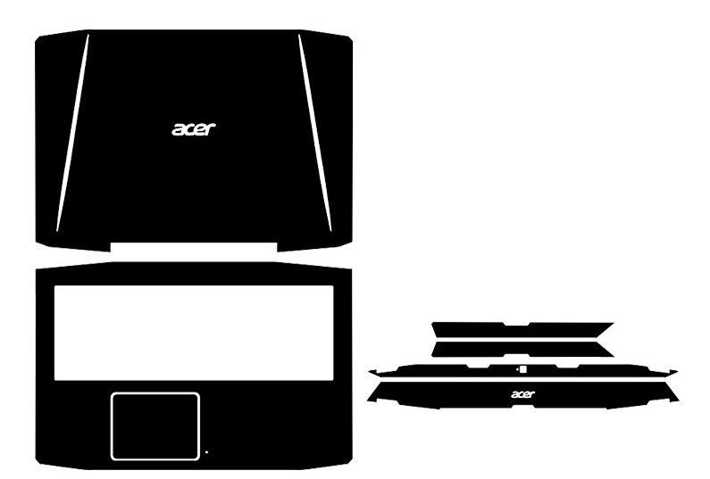 Special Leather Carbon Fiber Vinyl Skin Stickers Cover Guard For Acer Aspire VX 15 VX5-591G VX5 591 15.6-inch