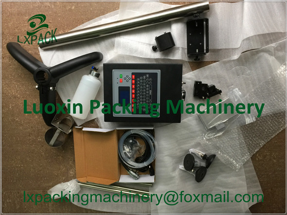 LX-PACK Lowest factory price hand inkjet printer coder for Frozen food Beverage Postal Candy confectionery Markem-Imaje
