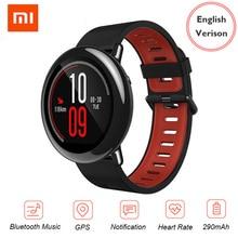 Original Huami Amazfit Pace Smartwatch Global Version Bluetooth 4.0 Sport GPS WiFi Push Heart Rate Xiaomi Smart Watch For iphone [english version]xiaomi huami amazfit pace sports smart watch bluetooth 4 0 wifi dual core 1 2ghz 512mb 4gb gps heart rate watch