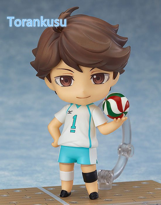 Haikyuu Action Figure Oikawa Tooru Nendoroid 563 # 10CMM Haikyuu Nendoroid Oikawa Tooru Modell Spielzeug Puppe Volleyball Abbildung
